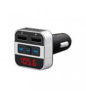 Modulator FM audio BLUETOOTH 2x USB 2.1A +1A PEIYING