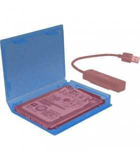 Curtie protectie hard disk 2.5 inch albastra Inter-Tech KP001A