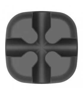 Suport cablu 1 locas in cruce Orico CBSX negru 23x23x10mm
