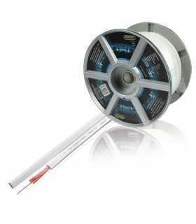 Cablu difuzor 2x4mm alb OFC cupru PROFESIONAL Profigold