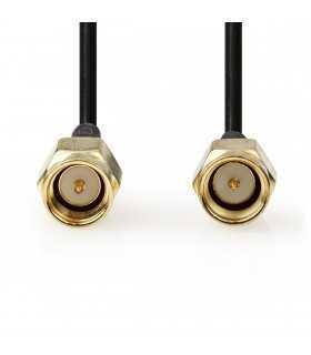 Cablu antena SMA tata - SMA tata 1m Nedis
