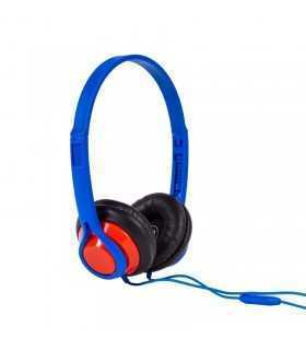 Casti cu microfon 1.2m albastru Legacy Maxell