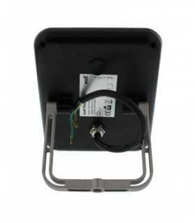Proiector LED 20W 1400lm IP65 4000K alb mediu carcasa aluminiu negru Well