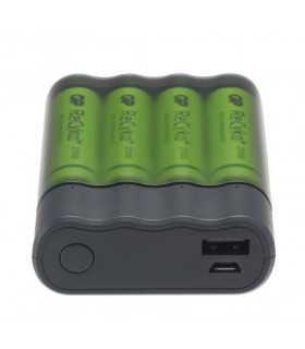 Acumulator portabil powerbank GP Charge Anyway 4x 2700mAh NiMh