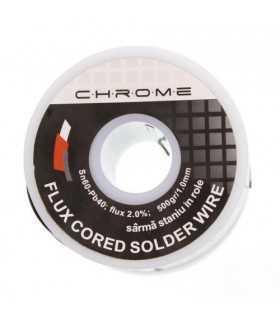 Fludor 500gr 1mm Sn60 Pb40 flux2 Chrome