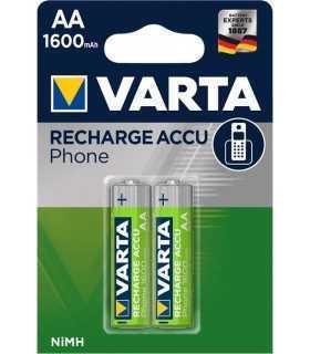 Set acumulatori telefon fara fir AA 1.2V 1600mAh Varta 2buc