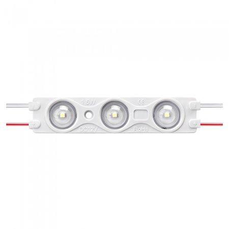 Modul 3 LED-uri 12V 1.5W 150lm SMD2835 verde P67 V-TAC