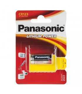 Baterie CR123 PANASONIC 1buc blister