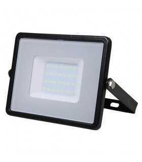 Reflector LED SMD 30W 4000K 2400lm IP65 negru CIP SAMSUNG V-TAC