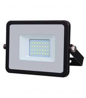 Reflector LED SMD 20W 4000K 1600lm IP65 negru-gri CIP SAMSUNG V-TAC