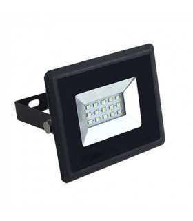 Reflector LED SMD 10W 6000K 850lm IP65 negru V-TAC