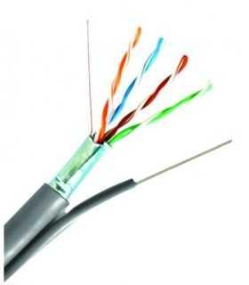 Cablu FTP Cat5e cu sufa 8 fire din cupru 0.5mm Well