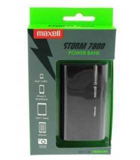Acumulator extern PowerBank 7800mAh negru Maxell