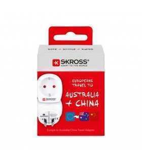 Adaptor priza Skross EU - Australia China