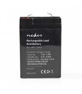 Acumulator plumb acid Nedis 6V 4Ah 70x47x101mm