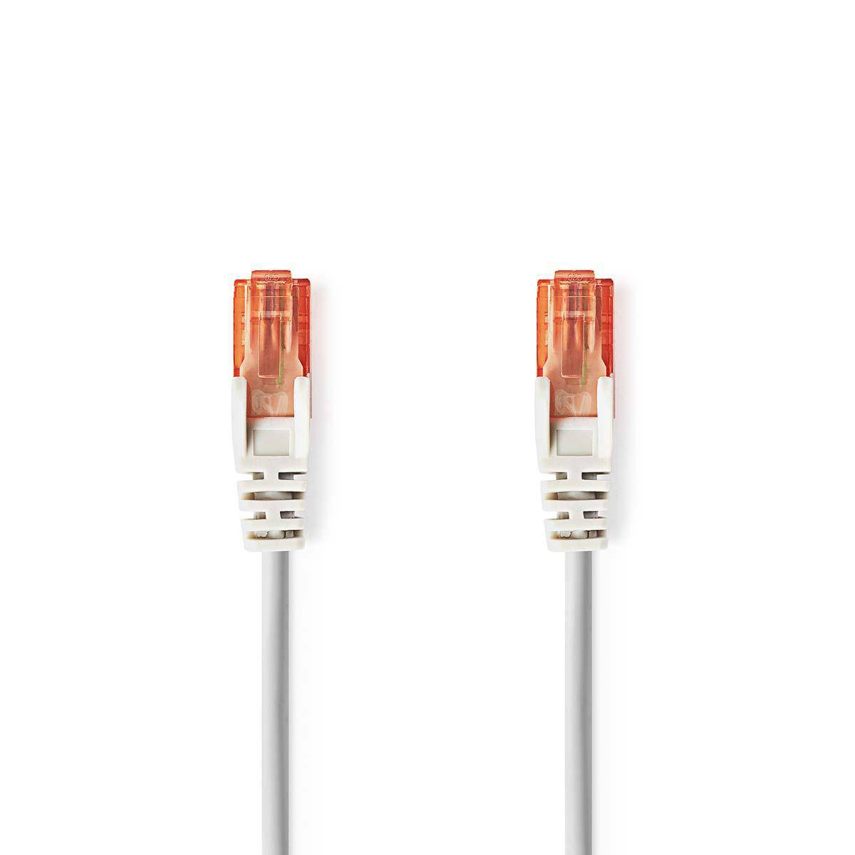 Cablu UTP CAT6 Nedis RJ45 tata - RJ45 tata 5m gri