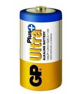 Set baterii alcaline UltraPLus GP R14 C 2buc/blister