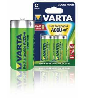 Set acumulatori Varta R14 C 3000mAh Ready2Use Varta 2buc/blister