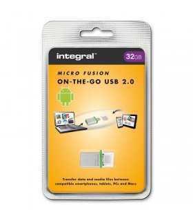 Flash Drive 32GB OTG micro FUSION INTEGRAL