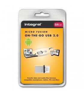 Flash Drive 64GB OTG micro FUSION INTEGRAL