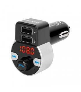 Modulator FM audio 2x USB Bluetooth PEIYING