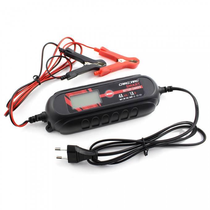 Incarcator Inteligent pt baterii auto 6V-12V Redresor incarcare 1.2-120Ah Carguard