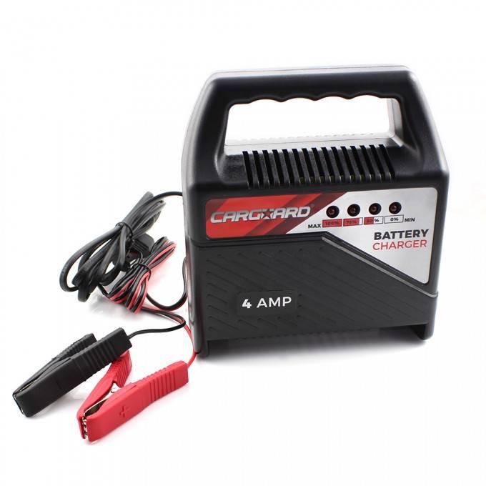 Incarcator baterie auto 12V 4A Redresor incarcare 1.2-75Ah Carguard