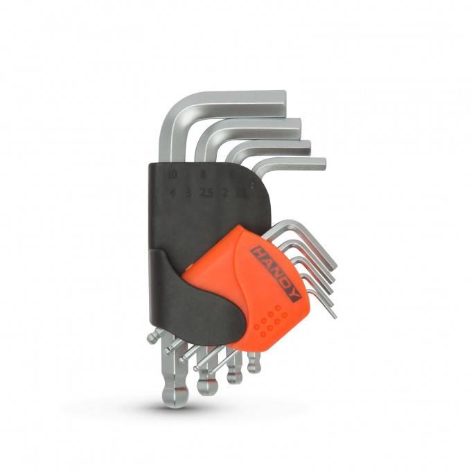 Set chei negative mici tubulare 1.5 2 2.5 3 4 5 6 8 10mm otel crom-vanadiu HANDY