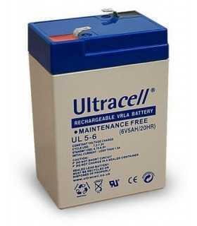 Acumulator plumb acid Ultracell 6V 5Ah UL 5-6