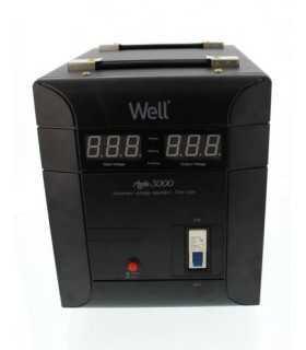 Stabilizator automat de tensiune Agile 3000VA/2100W Well