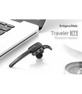 Casca Headset BLUETOOTH 4.0 Multipoint K11 Kruger&Matz
