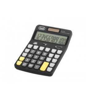 Calculator de birou EC 3775 12 digit baterie +solar negru Trevi