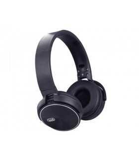Casti audio Bluetooth DJ 12E50 BT negru Trevi