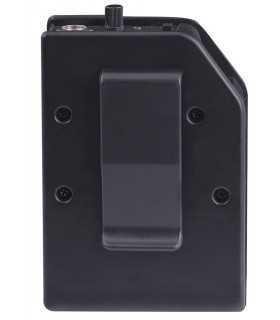 Microfon lavaliera wireless cu clip VHF EM 408 R Trevi