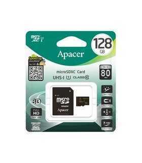 Card microSDXC UHS-I 128GB clasa 10 cu adaptor SD Apacer