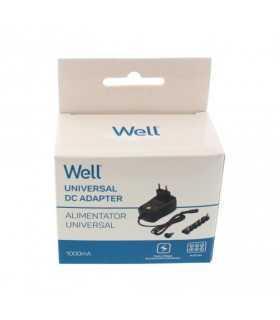 Alimentator universal in comutatie 3-12V 1A 1000mA 6 mufe Well