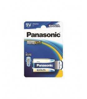 Baterie alcalina 9V 6LR61 EVOLTA PANASONIC