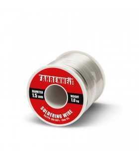 Fludor 1.5mm Sn/Pb 60/40% Flux 2% 1000gr FAHRENHEIT