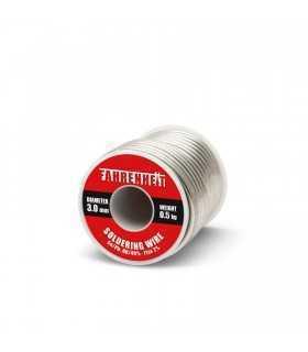Fludor 3mm Sn/Pb 60/40% Flux 2% 500gr FAHRENHEIT