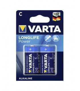Set baterii VARTA C R14 LONGLIFE Power alcaline 2buc