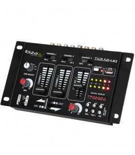 Mixer USB cu afisaj cu LED-uri ibiza