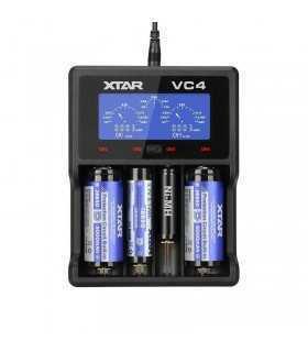 Incarcator universal LI-ION NI-MH NI-CD 1-4buc XTAR-VC4