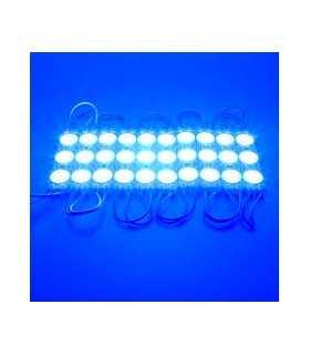 Modul 3 LED-uri 12V 1.5W SMD2835 150lm albastru IP67 V-TAC