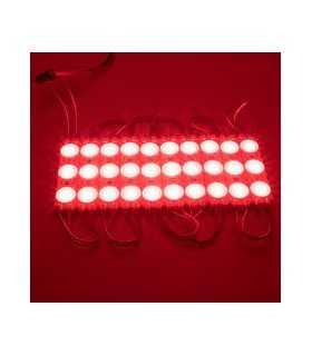 Modul 3 LED-uri 12V 1.5W 150lm SMD2835 rosu IP67 V-TAC