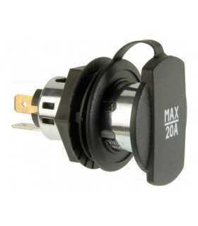 Adaptor mufa mama bricheta auto x1 20A 12÷24VDC PRO CAR 68140800