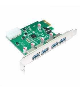 Card PCIE USB 3.0 placa PCI-E la 4x USB 3.0