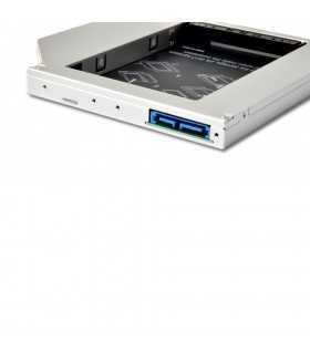 SSD HDD CADDY SATA3 12.7mm Cadru de montare pe unitatea hard disk de 2.5 inch