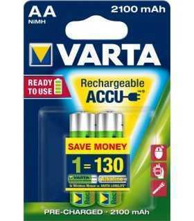 Acumulatori R6 AA 2100mAh Ready2Use 2buc/blister Varta