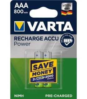 Acumulator R3 AAA 800mAh Ready2Use 2buc/blister Varta