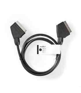 Cablu SCART tata - tata Nedis 1.5m